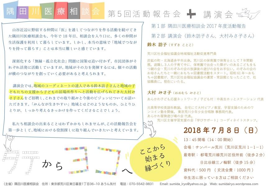 隅田川医療相談会2018